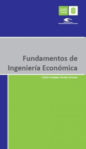 Cubierta para Fundamentos de ingeniería económica