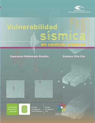 Cubierta para Vulnerabilidad sísmica en centros urbanos