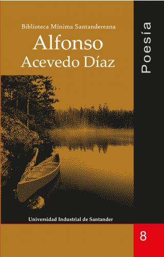 Cubierta para Poesía: Alfonso Acevedo Díaz