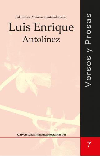 Cubierta para Versos y prosas: Luis Enrique Antolínez