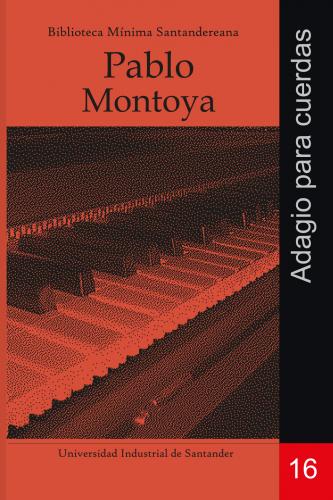 Cubierta para Adagio para cuerdas: Pablo Montoya