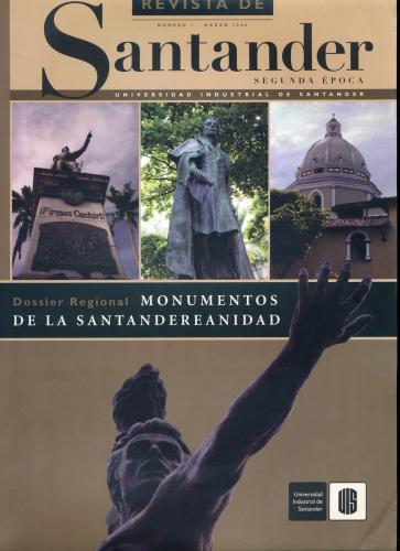 Cubierta para Revista de Santander No. 1 – Segunda época