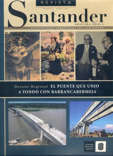 Cubierta para Revista de Santander No. 2 – Segunda época