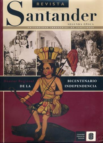 Cubierta para Revista de Santander No. 5 – Segunda época