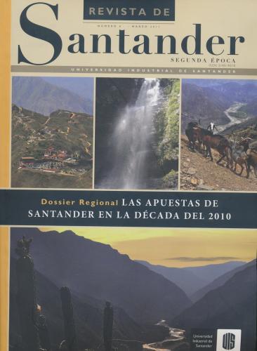 Cubierta para Revista de Santander No. 6 – Segunda época