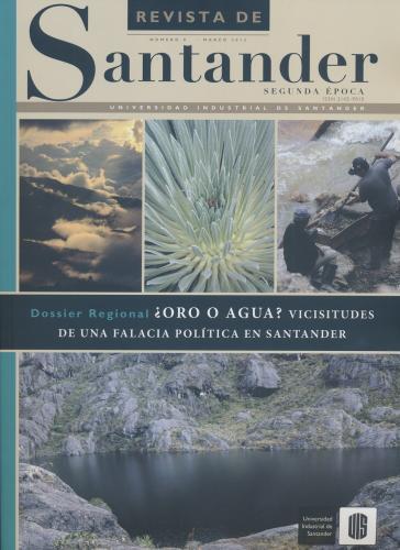 Cubierta para Revista de Santander No. 8 – Segunda época