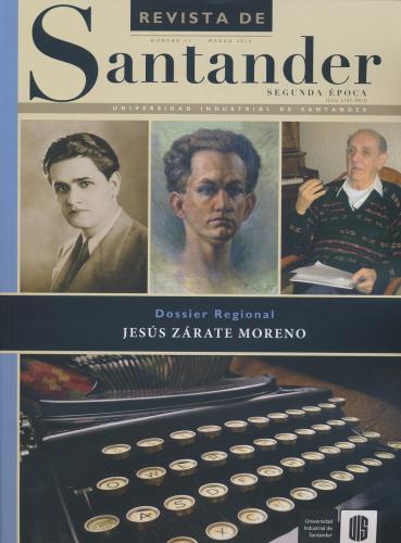 Cubierta para Revista de Santander No. 11 – Segunda época