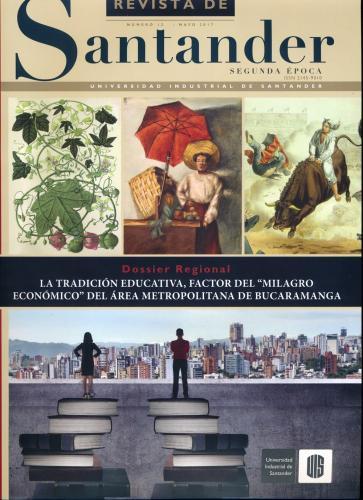 Cubierta para Revista de Santander No. 12 – Segunda época