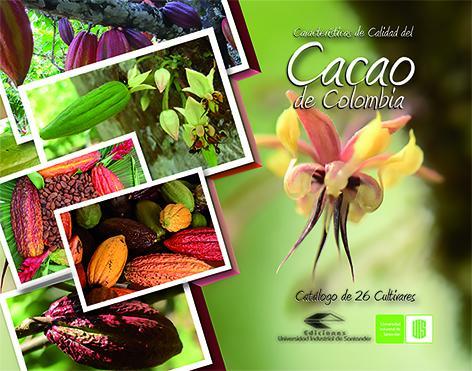Cubierta para Características de la calidad del cacao: Catálogo de 26 cultivares