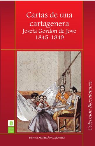 Cubierta para Cartas de una cartagenera Josefa Gordon de Jove. 1845 -1849
