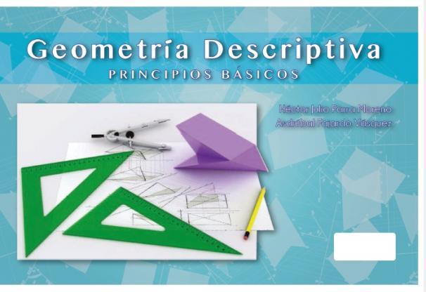 Cubierta para Geometría descriptiva. Principios básicos