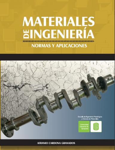 Cubierta para Materiales de ingeniería. Normas y aplicaciones
