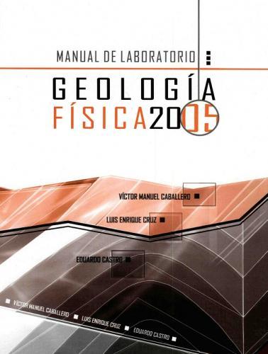 Cubierta para Manual de laboratorio de Geología Física 2005