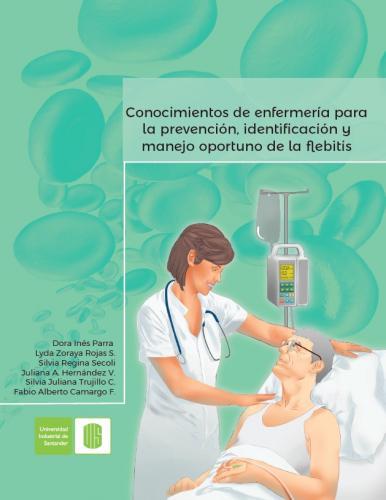 Cubierta para Conocimientos de enfermería para la prevención, identificación y manejo oportuno de la flebitis