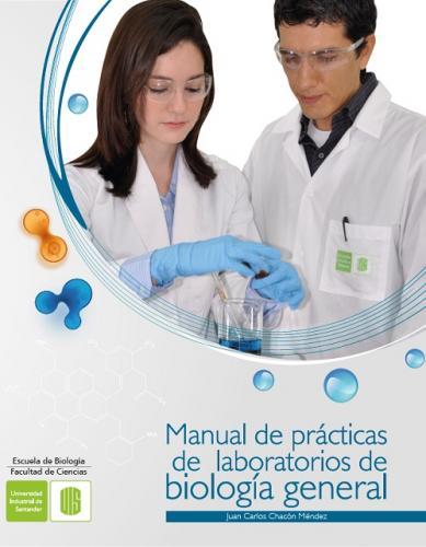 Cover for Manual de prácticas de laboratorios de biología general