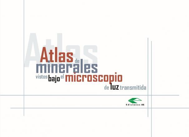 Cubierta para Atlas de minerales vistos bajo el microscopio de la luz transmitida