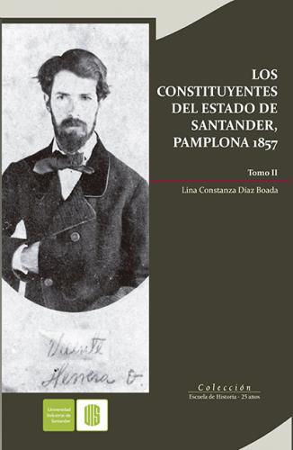 Cubierta para Los constituyentes del estado de Santander, Pamplona 1857, Tomo II