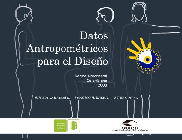 Cubierta para Datos antropométricos para el diseño